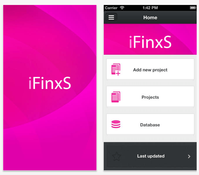 Extended DISC iFinxS app
