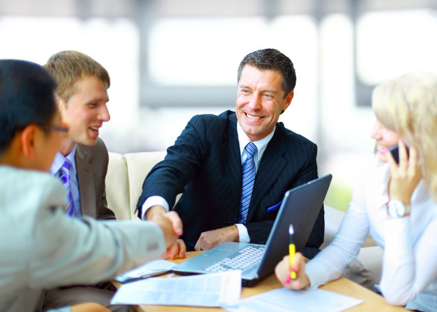 A successful sales professional using DISC Profiles in selling