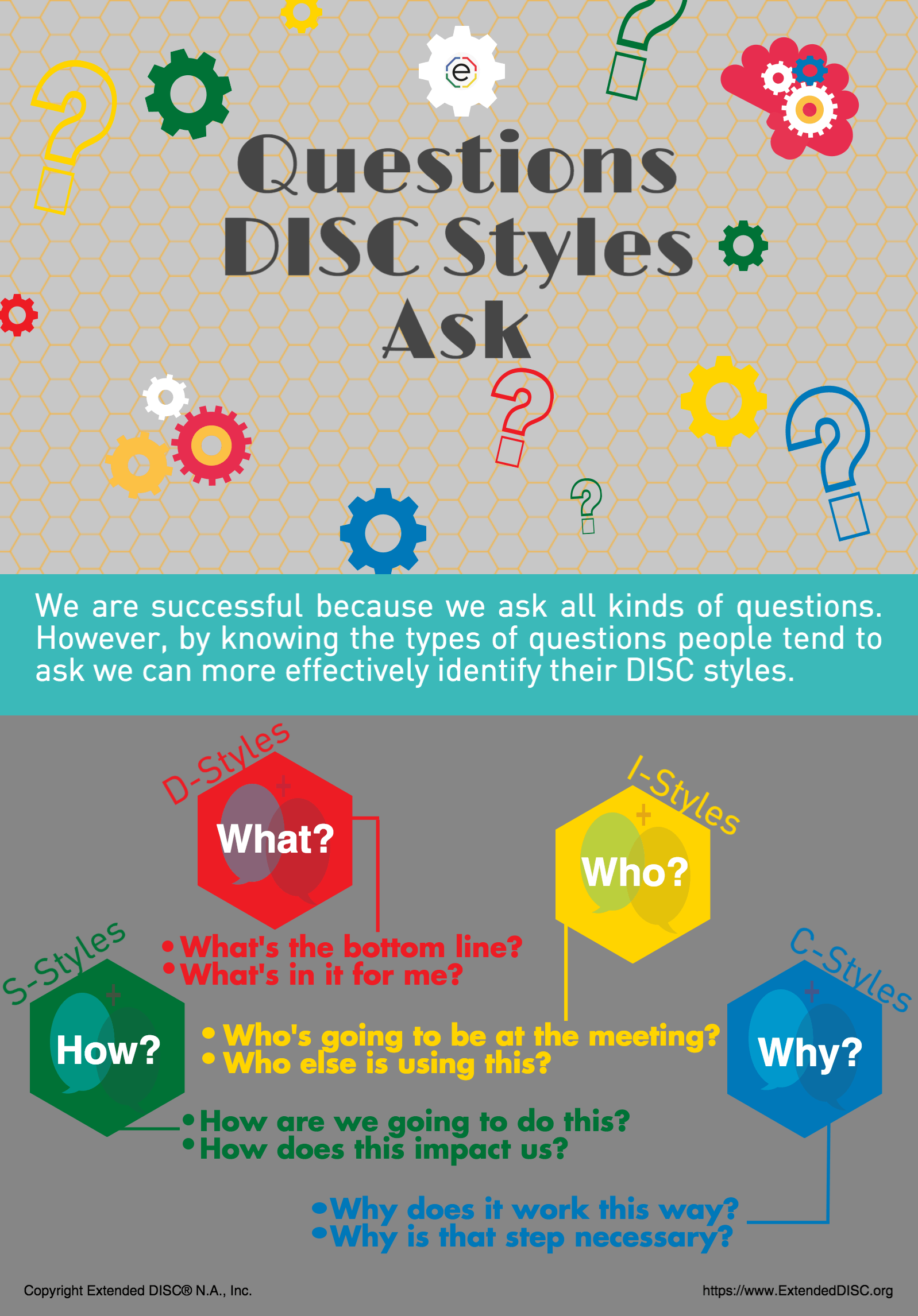 Questions DISC Profiles Ask