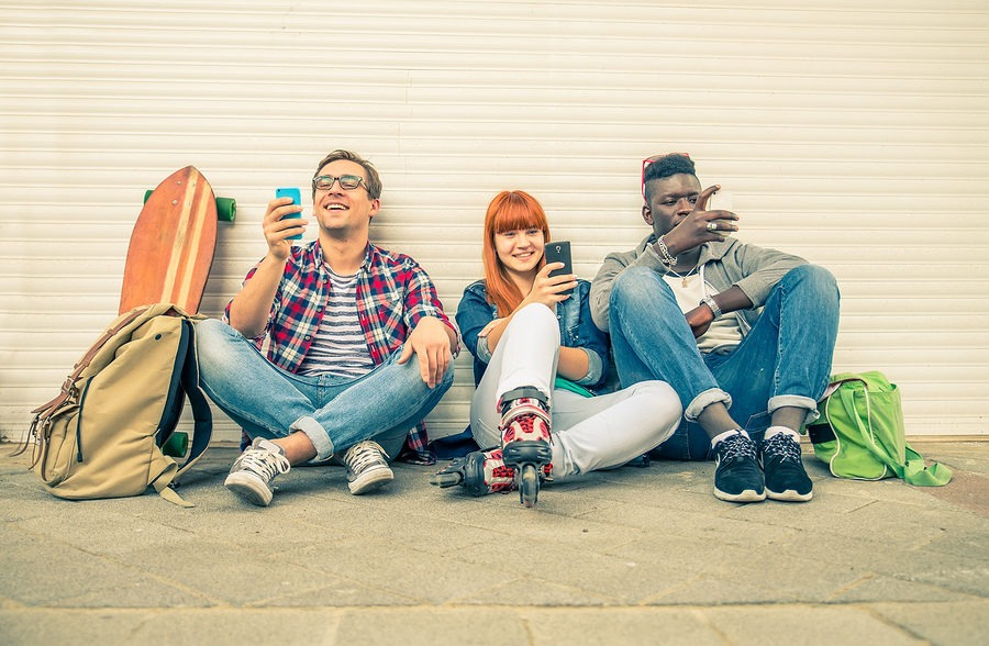 Generation Z focused on pop culture social media