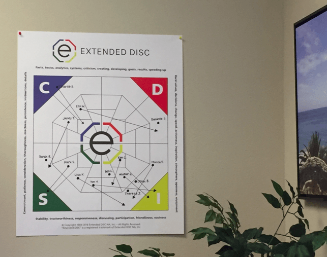 DISC Diamond Flip Chart Sample