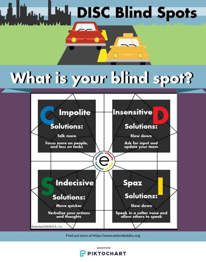 DISC Styles Blind Spots
