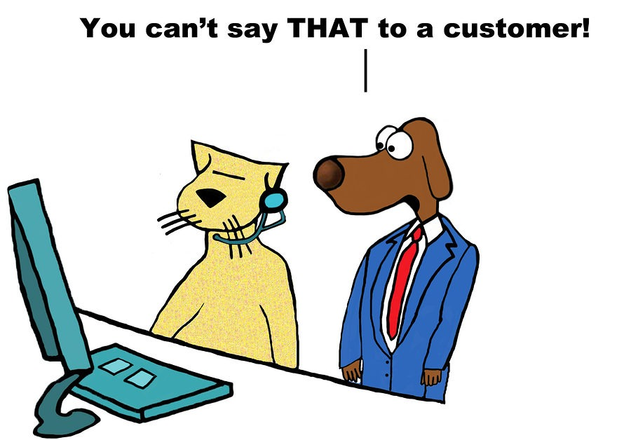 Poor Customer Service Comic