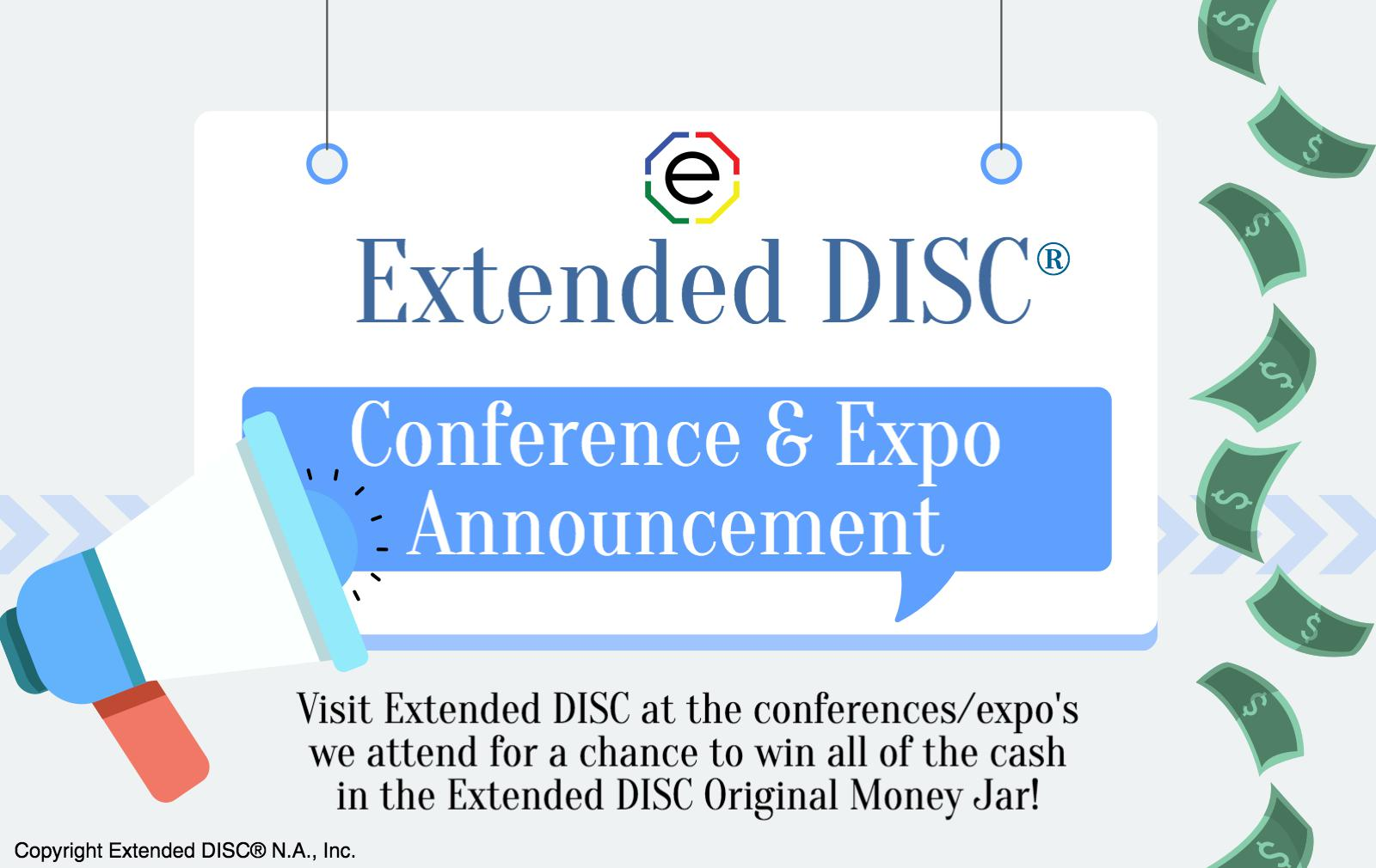 Join Extended DISC at the HRSouthwest Conference.