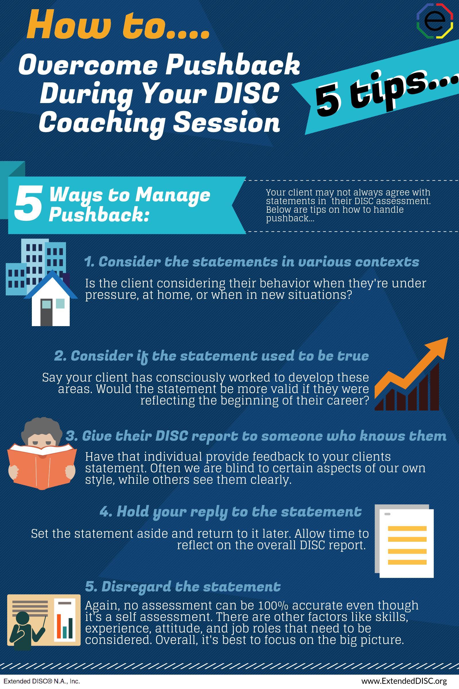 DISC Coaching Overcoming Pushback