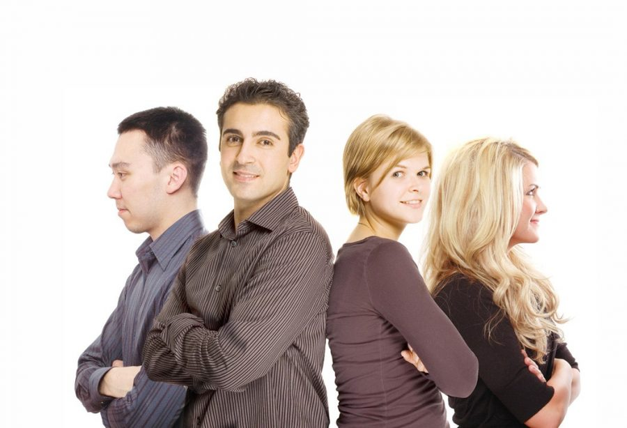 Group of employees who may resist taking the DISC test