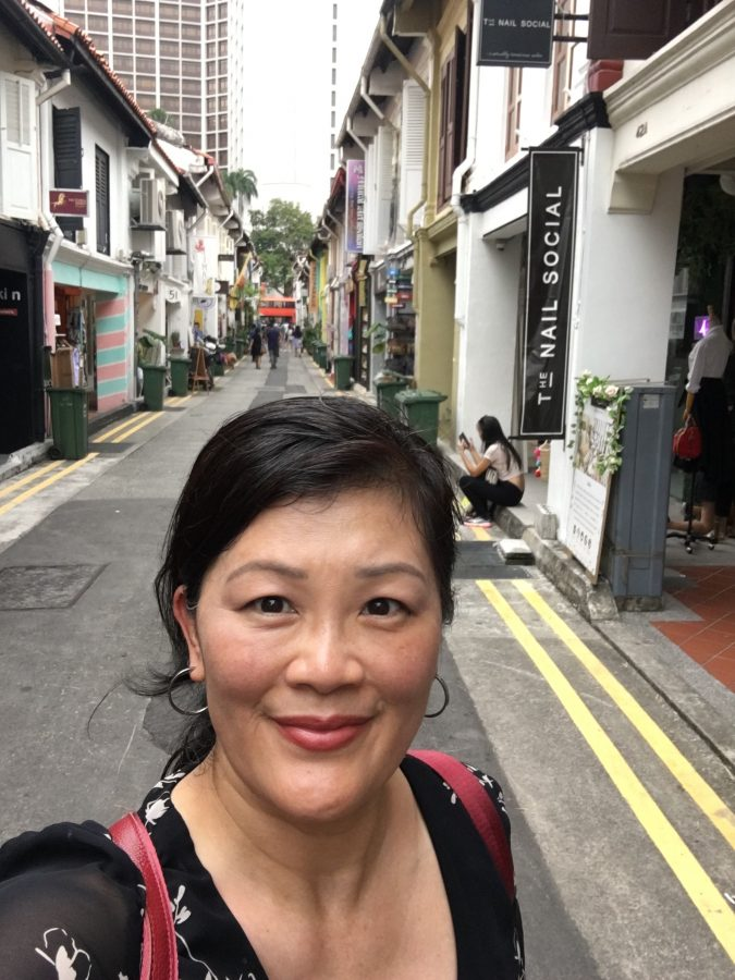 Christina on Haji Lane, Singapore