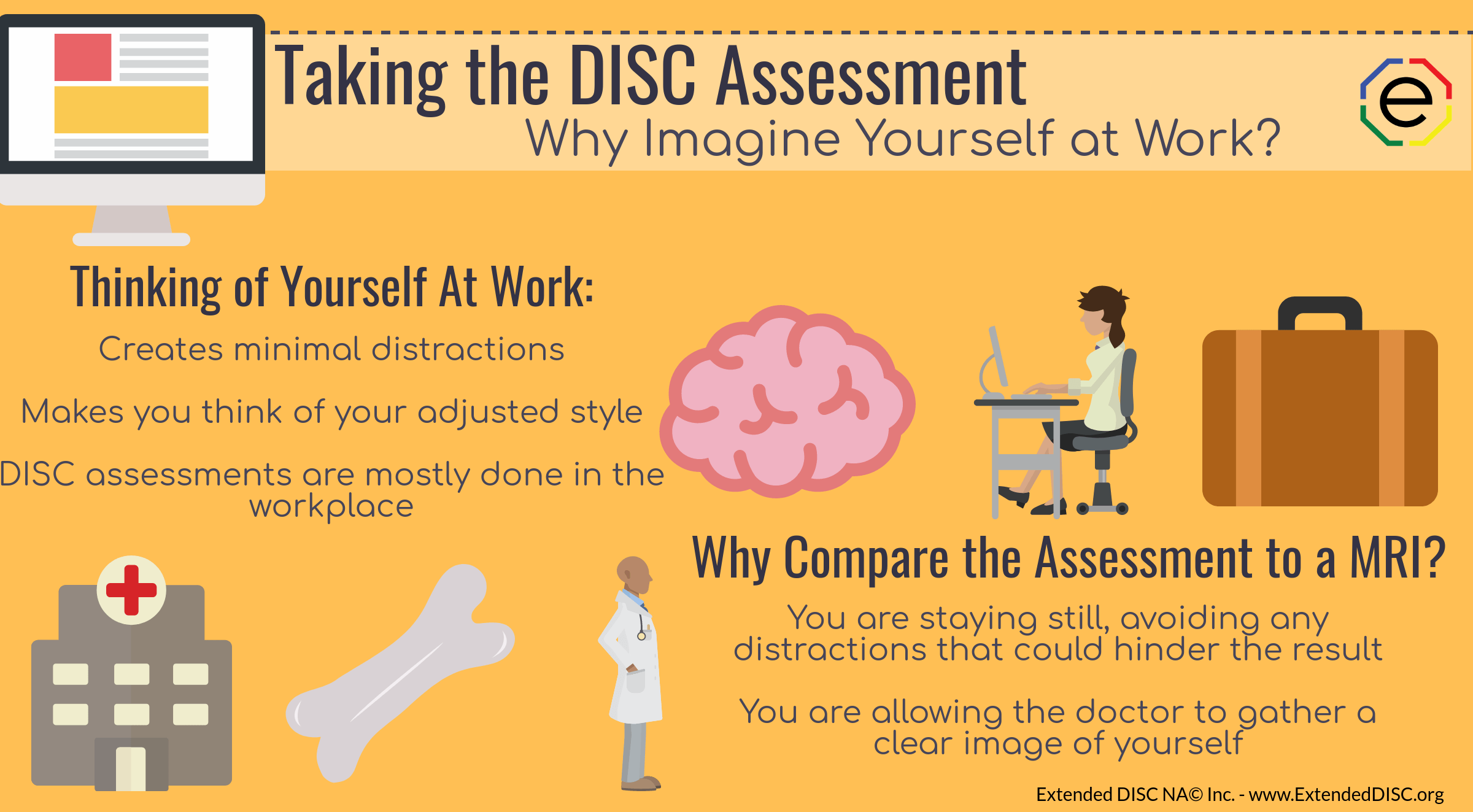 Taking the DISC assessment with work in mind