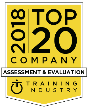 2018 Assessment & Evaluation Top 20 Company Logo