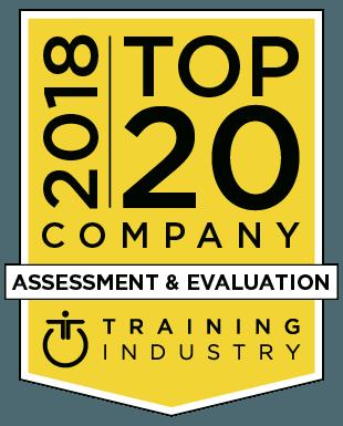 2020 Top 20 Company badge