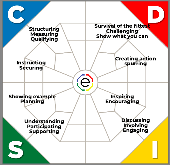 Extended DISC Leadership styles