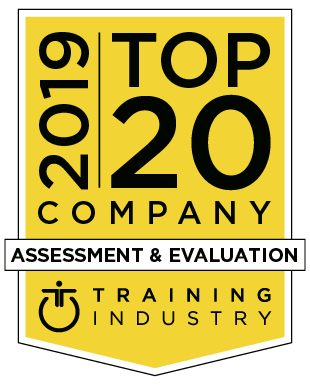 2019 Assessment & Evaluation Top 20 Company Logo