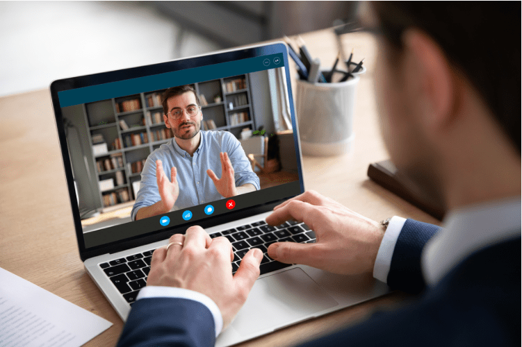 Conducting a virtual training sessions